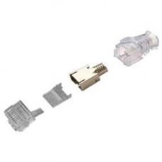 6-2111989-3 : Đầu nối cáp FTP, Cat.6, RJ45, 26-23 AWG, 5.7-7.0mm