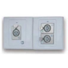 Ổ cắm dùng cho kết nối XLR 1 cổng Amperes MP1000N