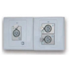 Ổ cắm dùng cho kết nối XLR 2 cổng Amperes MP2000N