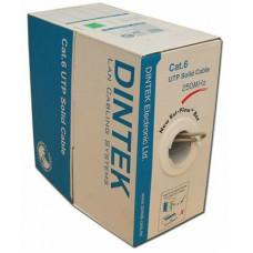 Cáp mạng DINTEK CAT.6 UTP, 4 pair, 23AWG, 305m/box1101-04004