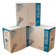 Cáp mạng CAT.6 UTP, 4 pair, 23AWG, 305m/box Dintek 1101-04004MB