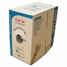 Cáp mạng Dintek CAT.5e FTP , 4 pair , 24AWG , Bọc nhôm chống nhiễu , 305m/box 1103-03003CH