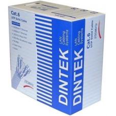 Cáp mạng DINTEK CAT.6A FTP , 4 pair for 10GB application, 23 AWG, 305m , - màu xám. 1105-06003