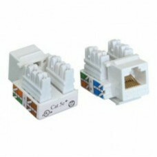 Hạt mạng DINTEK CAT.5e Keystone Jack, Vertical, F-Jack (for F- ) 1305-03047