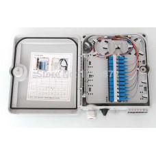 ODF 4 port, plastic mini type, wallmount (bao gồm: Pigtail SM, adapter, ống co nhiệt) Dintek FTTH box