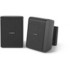 Cabinet speaker 5&quot 70/100V black pair Bosch LB20-PC30-5D