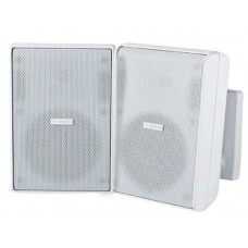 "Cabinet speaker 4"" 8 Ohm white pair Bosch LB20-PC40-4L"