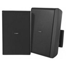 Cabinet speaker 8&quot 70/100V black pair Bosch LB20-PC60-8D