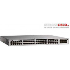 Bộ chia mạng Catalyst 9200 24-port PoE+, Network Advantage Cisco C9200-48P-E