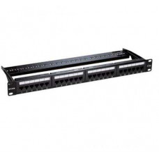Bảng cắm dây mạng Patch Panel Cat 5e UTP Keystone Type- 24 Port-Fully Loaded