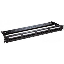 Bảng cắm dây mạng Patch Panel Cat 6 UTP Keystone Type- 24 Port-Fully Loaded