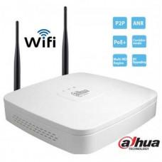 Đầu ghi hình dòng Lite hỗ trợ WIFI 4 kênh IP Dahua model NVR4104-W