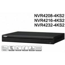 Đầu ghi hình dòng Lite hỗ trợ 2 ổ cứng 32 kênh IP Dahua model NVR4232-4KS2