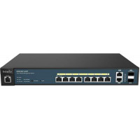 Bộ chia mạng 8-Port Managed Gigabit 130W PoE+ Switch ENGENIUS-EWS5912FP