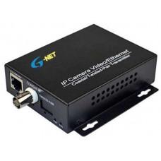 Thiết bị truyền dẫn tín hiệu Ethernet RJ45 bằng cáp UTP và cáp đồng trục Coxial  G-Net G-EOC-101P