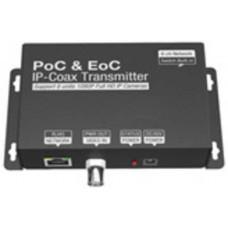 Thiết bị truyền dẫn tín hiệu Ethernet RJ45 + Nguồn DC bằng cáp đồng trục Coxial G-Net G-PEC-101T