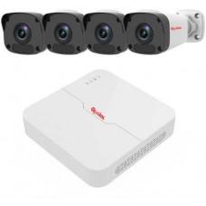 Trọn bộ đầu ghi camera IP Global 4 kênh NVR-0104L-4P-TAG-I32L3-FP40-K