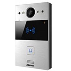 Nút bấm chuông hình IP chuẩn SIP ( thiết kế mỏng ) - Camera 3MP AKUVOX R20K - AM TUONG
