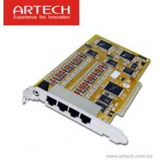 Card mở rộng 8 kênh giao tiếp sử dụng cho máy ghi âm AK8 Artech AX8A
