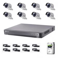 Trọn bộ 8 camera thân 2megapixels Đài loan