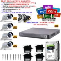 Trọn bộ 4 camera thân 2megapixels Đài loan