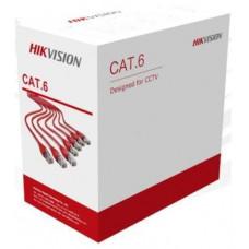 Cáp mạng UTP CAT 6 UTP / CAT 6 / indoor PVC / 24AWG Hikvision DS-1LN6U-SCO