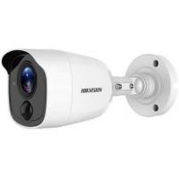Camera HD-TVI ultra lowlight 2 mp chống báo động giả (hỗ trợ đèn cảnh báo chuyển động) Hikvision model DS-2CE11D8T-PIRLO