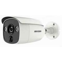 Camera HD-TVI 2 mp chống báo động giả (hỗ trợ đèn cảnh báo chuyển động) Hikvision model DS-2CE12D0T-PIRLO