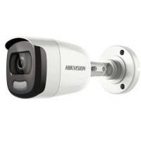 Camera Colorvu Hd-Tvi 2 Mp - Hình ảnh Màu Sắc 24/7 - Tích Hợp Đèn & Còi Báo Động Hikvision DS-2CE12DFT-PIRXOF