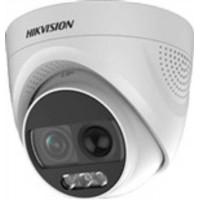 Camera Colorvu Hd-Tvi 2 Mp - Hình ảnh Màu Sắc 24/7 - Tích Hợp Đèn & Còi Báo Động Hikvision DS-2CE72D0T-PIRXF