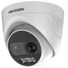 Camera bán cầu 2MP - có màu 24/24 (ColorVu) Hikvision DS-2CE72DFT-PIRXOF