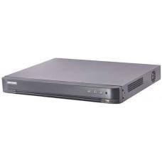 Đầu ghi hình 1080P Lite 16 kênh TVI Ghi âm qua cáp đồng trục Hikvision DS-7216HGHI-K1(S)
