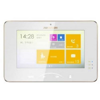 Màn hình căn hộ kích thước 7 inch , Colorful TFT LCD (217 mm × 142 mm × 26 mm) Hikvision HIK-VDM5000-WT