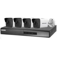 TRỌN BỘ - NK42E0H-L (4 Camera 1 Đầu ghi NVR) PoE KIT Hikvision NK42E0H-L
