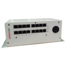Bộ cấp nguồn & phân phối tín Video/Audio Hikvision model DS-KAD612