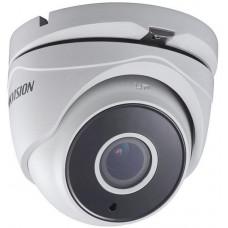 Camera HD-TVI 3.0 (vỏ sắt) 3MP Bán cầu (dome) Hồng ngoại 20m Chống ngược sáng Hikvision model DS-2CE56F7T-ITM