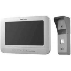 Bộ kit chuông cửa hình analog Bao gồm DS-KB2421-IM (chuông cửa) DS-KH2220 (Màn hình) Hikvision model DS-KIS203