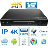 Đầu ghi IP J-Tech HD5032 ( 4K / H265+ )
