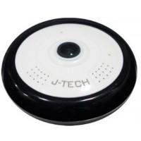 Camera IP WIFI hiệu J-Tech HD6115W (1.3MP/H.264+ , chế độ ghi Panorama 360o)