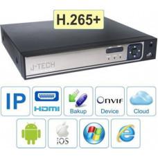 Đầu ghi IP J-Tech HD6216 ( H265+ )