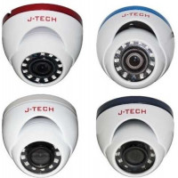 Camera Dome ( Chưa có adaptor ) J-Tech AHD5285E (5MP / Human Detect / Face ID)