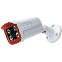Camera IP Thân ( chưa có Adaptor và chân đế ) J-Tech AI5703C (3MP / Human Detect / Face ID* / Smart Led)