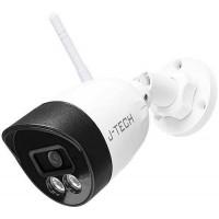 Camera IP Wifi- Chưa Adaptor Và Chân Đế J-Tech AI5723S6 ( WIFI / 5MP / H.265X / Smart led )-- Full color