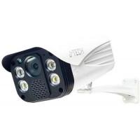 Camera IP Thân J-Tech AI8205EM (5MP/Human Detect / Smart led+Loa+SDcard)