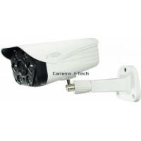 Camera IP thân ( chưa có Adaptor và chân đế ) J-Tech AI8208CS (3MP/Human Detect / Face ID / Smart Led+Loa)