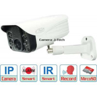 Camera IP J-Tech AI8208S6 ( Wifi / 5.0MP / H.265X / Smart led )