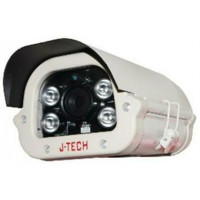 Camera IP - Thân ( chưa có Adaptor và chân đế ) J-Tech HD5119C0 ( 3MP/H.265+ , Tiết kiệm ~80% HDD )