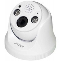 Camera IP Dome J-Tech SHD5283LS (3MP / Human Detect / Loa/ Led sáng)