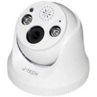 Camera IP J-Tech - Dome ( chưa có Adaptor ) J-Tech SHD5285CSL (3MP/ Led/ Human Detect / Face ID / Loa)