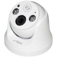 Camera IP Dome ( chưa có Adaptor ) J-Tech SHD5285ESL (5MP /Loa/ Led/ Human Detect / Face ID)